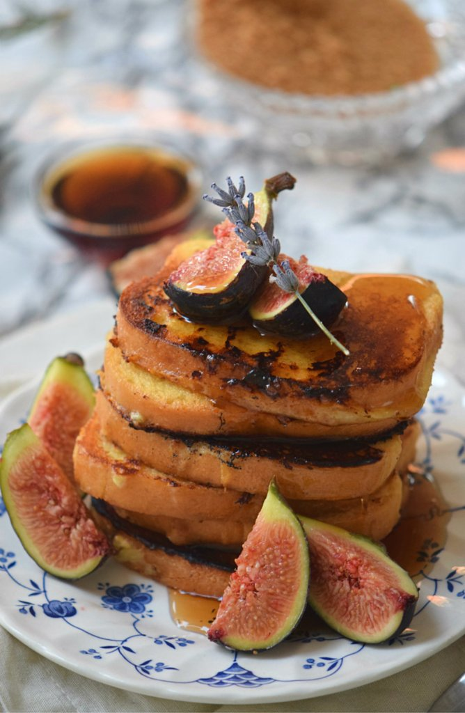 Rose Infused French Toasts