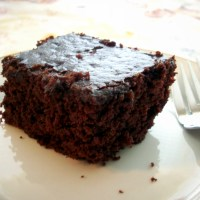 Unbelievably Moist Chocolate Cake: Eggless, Butterless, Milkless