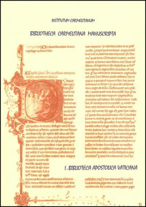 Bibliotheca Carmelitana Manuscripta