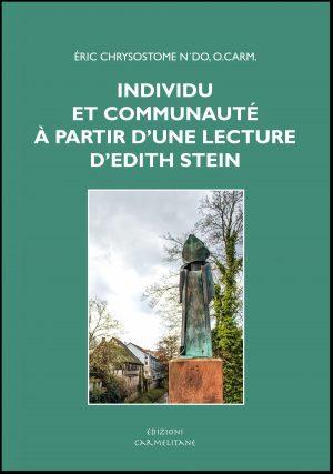VCD31 N´DO ERIC CHRISOSTOME INDIVIDU ET COMMUNAUTÉ À PARTIR D'UNE LECTURE D'ÉDITH STEIN