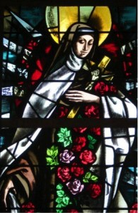 St Therese Stained Glass