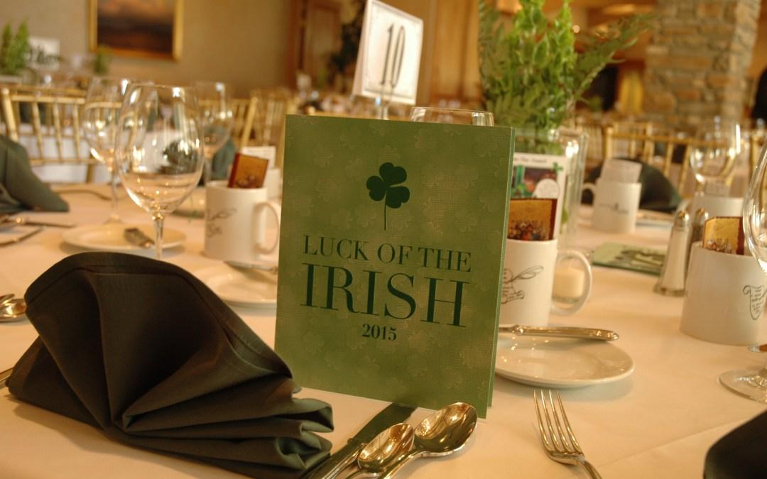 Luck of the Irish Benefits Sacred Heart Retreat House