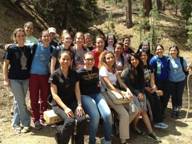 Serving with Carmelite Sisters Hike