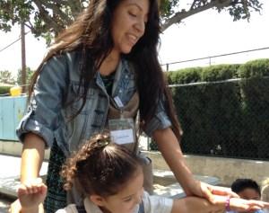 Serving with Sisters Volunteer