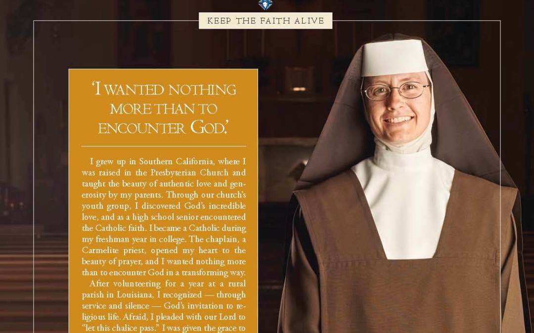 "From Columbia Magazine | ""I Wanted Nothing More Than to Encounter God"""