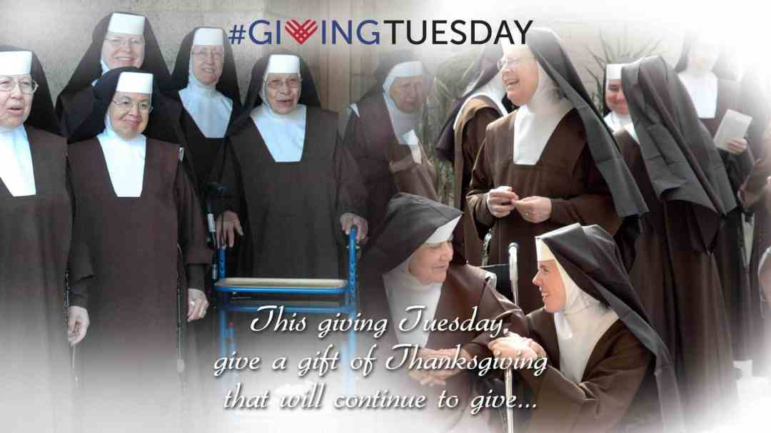 Carmelite Sisters Giving Tuesday