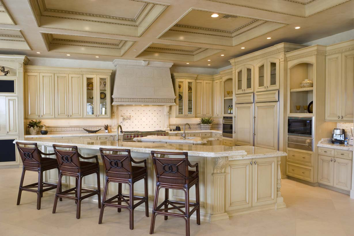 Modern Tuscan Style Kitchen Novocom Top