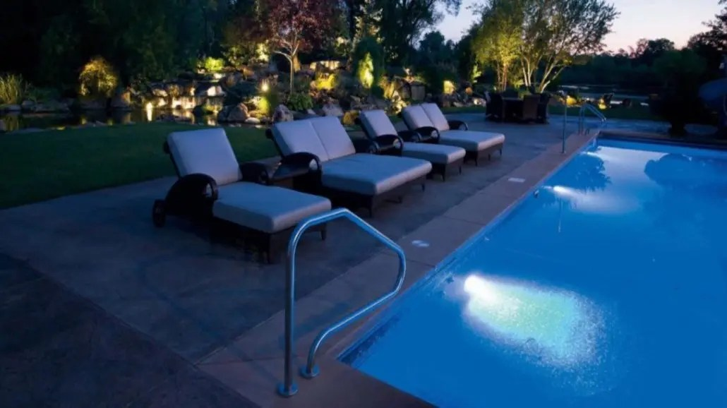 a focus on outdoor lighting makes