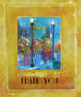 MC-896 BEING REMEMBERED -  THANK YOU CARD
