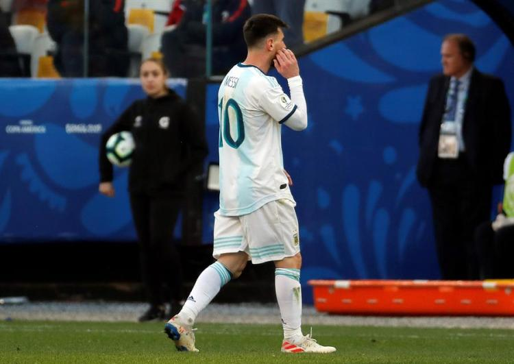 Lionel Messi. EFE/Paulo Whitaker/Archivo