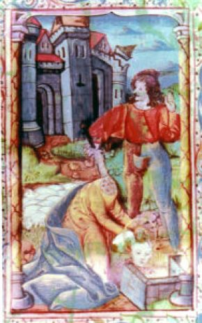 Sainte-Libaire-enluminure-du-14e-siecle