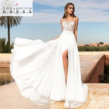 vestidos para novia modernos al civil