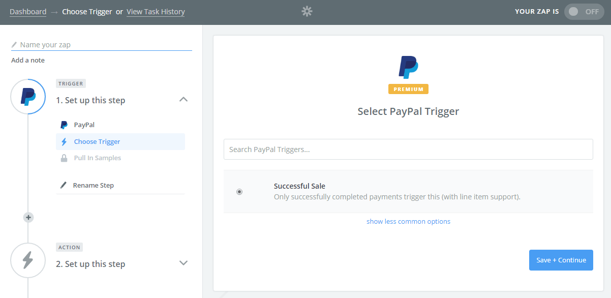 Create Xero Invoice And Payment From PayPal Charge Using Zapier - Paypal invoice fee