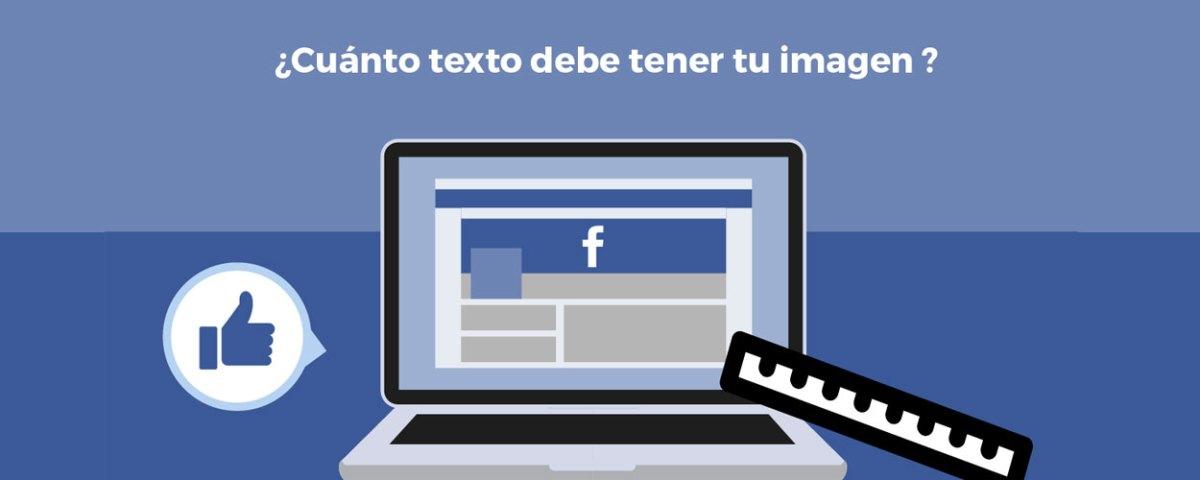 ¿Como medir el texto en las imágenes de los anuncios de Facebook?