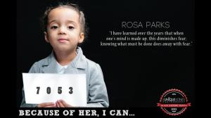 "Rosa Parks ""I have learned over the years that when one's mind is made up, this diminishes fear; knowing what must be done does away with fear."""