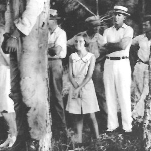 Close-up from the Lynching of Rubin Stacy, 1935