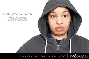 "Eunique Johnson's ""I am Trayvon Martin"" Photo Campaign"