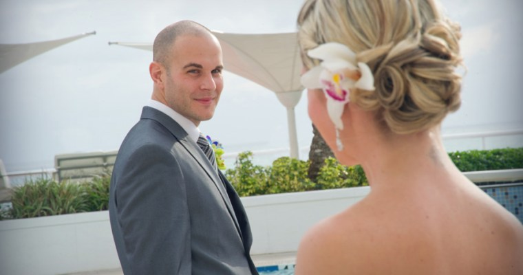 """""""First Look"""" Wedding Photos – Trend or Tradition…"""