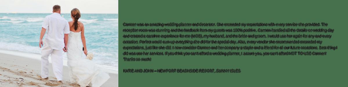 Carmen Mesa Weddings and Events, Reviews