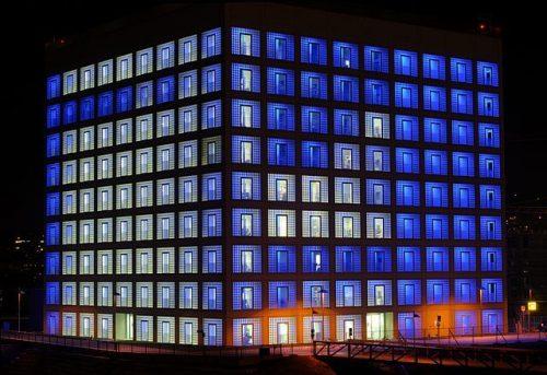 exterior biblioteca pública de Stuttgart