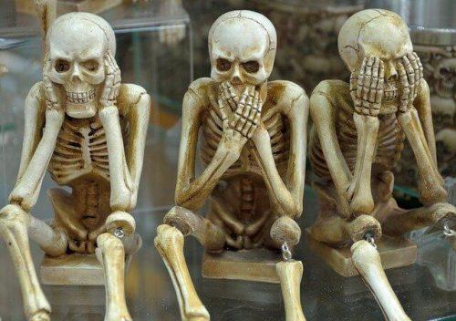 Esqueletos cómicos. Imagen ilustrativa del post Por qué me apasiona leer