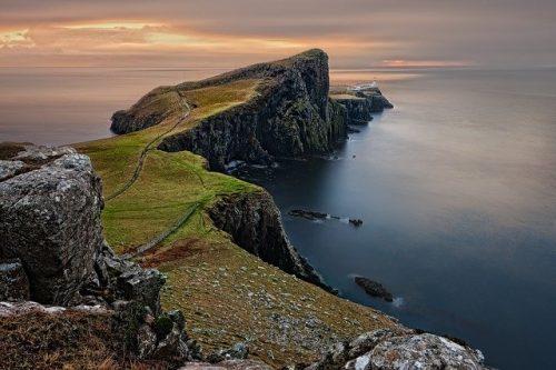 Isla de Sky para post lugares reales que inspiraron a grandes escritores