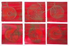 002_Serie-bicicletas-papel-fondo-rojo
