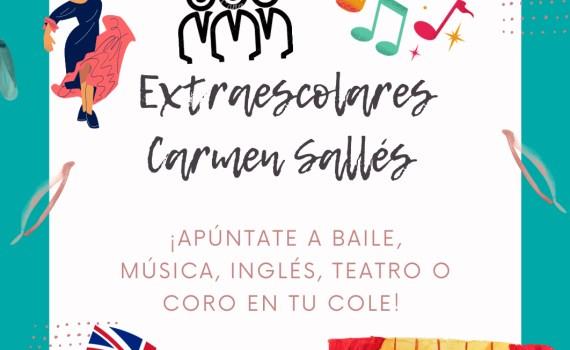 Extraescolares Carmen Sallés 21-22