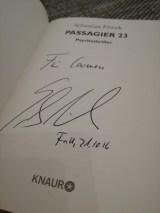 Mein signiertes Exemplar <3