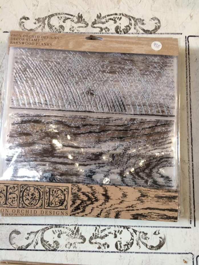 Barnwood Planks Stamp