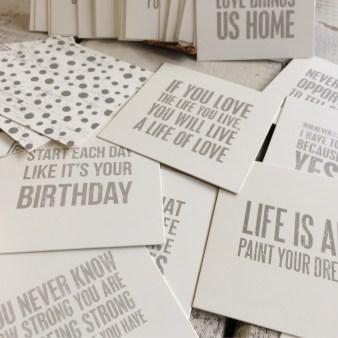 10 inspirational cards