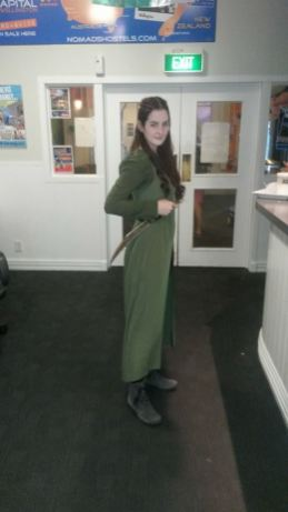 Posing as Tauriel