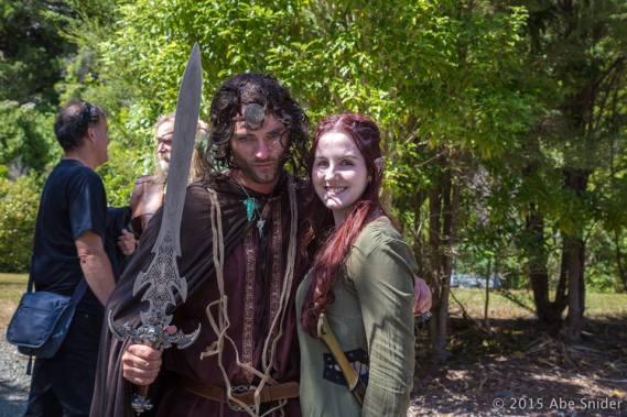 Aragorn & Tauriel ¦ Photo © AbeSnider.com