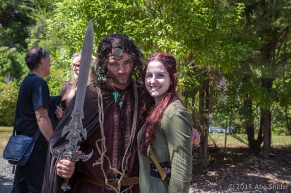 Aragorn & Tauriel ¦ Photo © AbeSnider.com