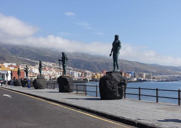 Candelaria Guanche Statues, Tenerife