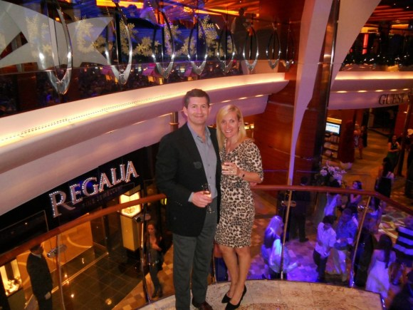 Captains Dinner Cocktail Party on The Oasis of the Seas