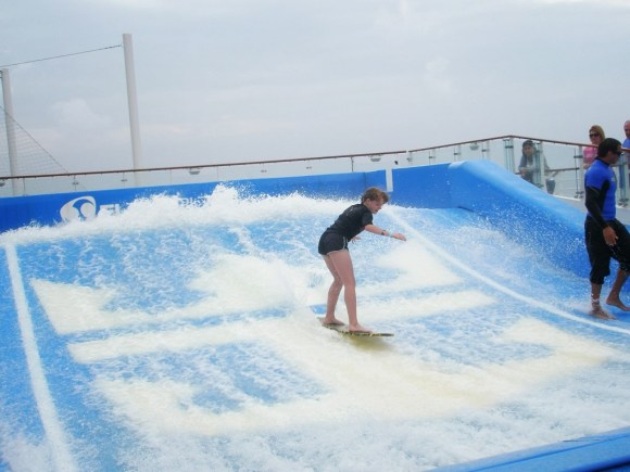 FlowRider on the Oasis of the Seas