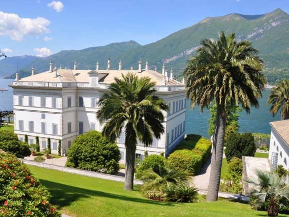 Villa Melzi view onto the lake in the town of Bellagio in Lake Como Photograph © Oxford Botanica/Adam Hodge