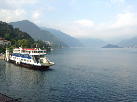 Ferry Boat, Bellagio, Lake Como, Italy