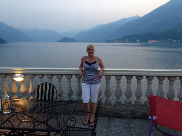 Hotel Metropole Bellagio, view of Lake Como from the fourth floor balcony