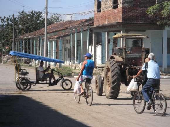 Streets of Placetas, Cuba