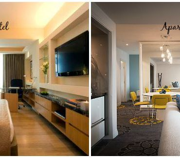 Staying in a Hotel verses an Apartment with kids?