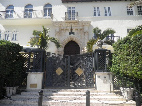 Gianni Versace's Miami Beach home it's called The Villa Miami Beach