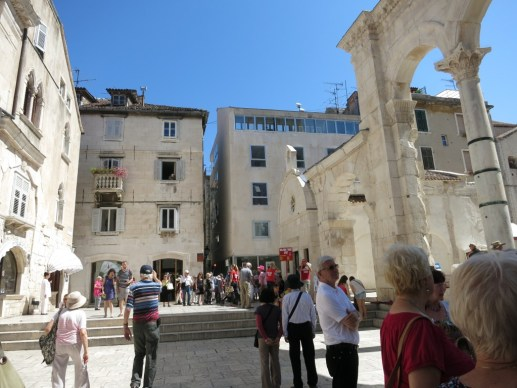 Inside Diocletian's Palace