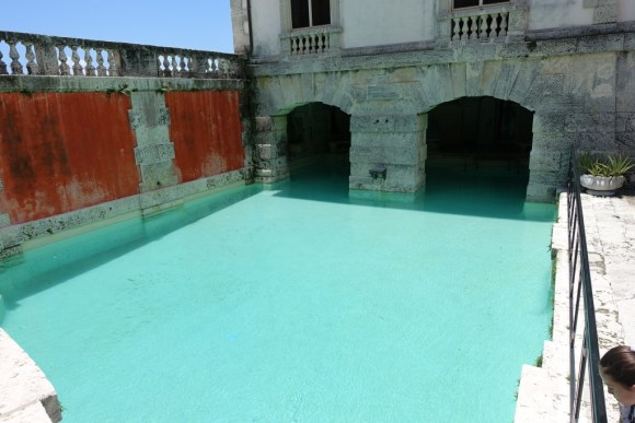 Swimming Pool at Vizcaya Museum and Garden, Miami