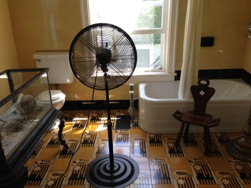 Ernest Hemingway's Bathroom inside his Key West house