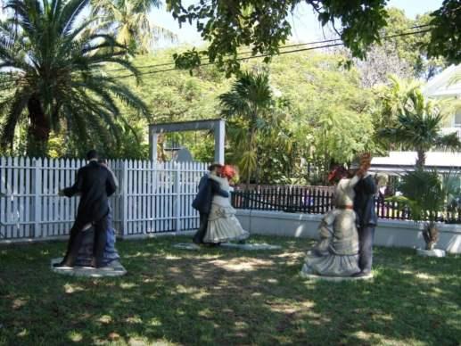 Key West Lighthouse sculptures by artist Seward Johnson