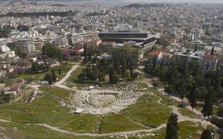 Theater of Dionysious, Athens