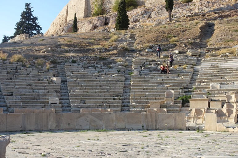 Theater of Dionysious, Athens, Greece