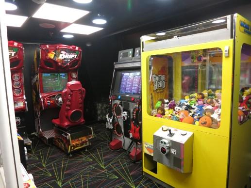 Splendour of the Seas - Arcade Room